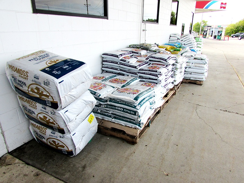 Country store feed sacks