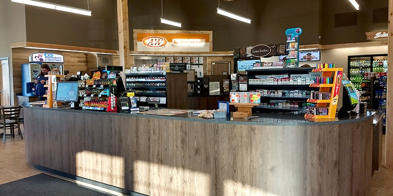 Front desk at North c-store