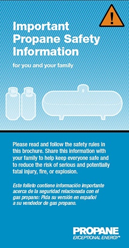 Propane safety information